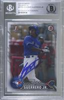 Vladimir Guerrero Jr. [BAS Certified Encased by BGS]