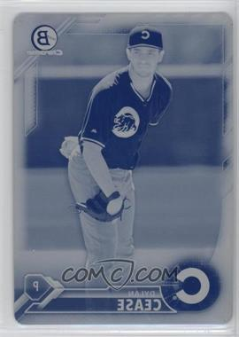 2016 Bowman Chrome - Prospects - Printing Plate Cyan #BCP171 - Dylan Cease /1