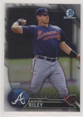 2016 Bowman Chrome - Prospects - Refractor #BCP202 - Austin Riley /499