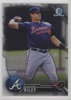 2016 Bowman Chrome - Prospects - Refractor #BCP202 - Austin Riley /499