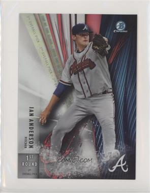 2016 Bowman Draft - Box Topper Top of the Class - Refractor #TOC-IA - Ian Anderson /99