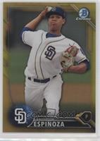Top Prospects - Anderson Espinoza /50