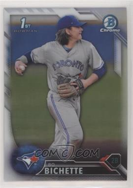 2016 Bowman Draft - Chrome - Refractor #BDC-74 - Draft Picks - Bo Bichette