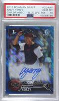 Andy Yerzy [PSA 10 GEM MT] #/150