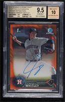 Forrest Whitley [BGS 9.5 GEM MINT] #14/25