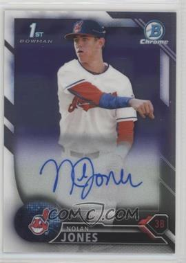 2016 Bowman Draft - Chrome Draft Pick Autographs #CDA-NJ - Nolan Jones