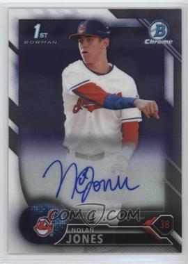 2016 Bowman Draft - Chrome Draft Pick Autographs #CDA-NJ - Nolan Jones
