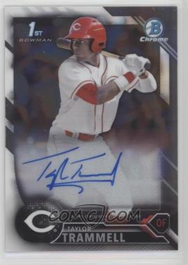 2016 Bowman Draft - Chrome Draft Pick Autographs #CDA-TT - Taylor Trammell