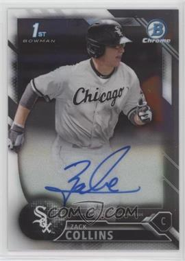 2016 Bowman Draft - Chrome Draft Pick Autographs #CDA-ZC - Zack Collins