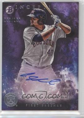 2016 Bowman Inception - Prospect Autographs - Purple #PA-AREE - A.J. Reed /150