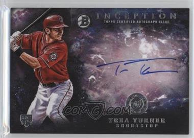 2016 Bowman Inception - Rookie Autographs #RA-TT - Trea Turner