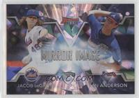 Ian Anderson, Jacob deGrom