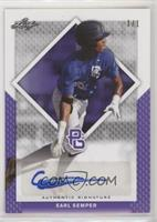 Earl Semper [Noted] #/1