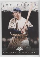 Lou Gehrig (Black Background)