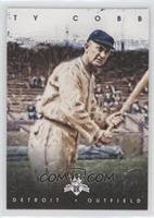 Ty Cobb (Holding one Bat)