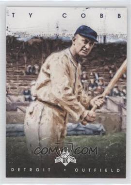 2016 Panini Diamond Kings - [Base] #23.1 - Ty Cobb (Holding one Bat)