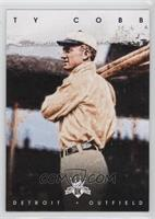 Ty Cobb (Holding two bats)