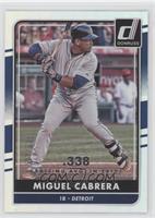 Miguel Cabrera /338