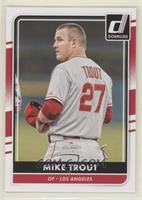Mike Trout (Grey Jersey, Hat Off)