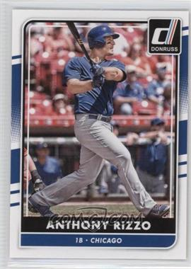2016 Panini Donruss - [Base] #87 - Anthony Rizzo