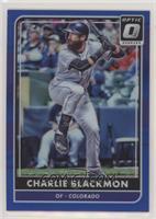 Charlie Blackmon #/149