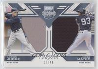 Aaron Judge, Jorge Mateo /49