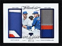 Matt Harvey, Noah Syndergaard #/15