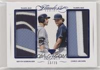 Chris Archer, Kevin Kiermaier #/15