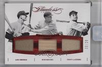 Bob Meusel, Lou Gehrig, Tony Lazzeri [Uncirculated] #/20