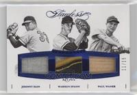 Johnny Sain, Paul Waner, Warren Spahn /15