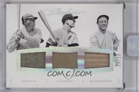 Miller Huggins, Babe Ruth, Lou Gehrig /25 [ENCASED]