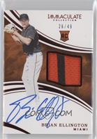 Rookie Auto Patch - Brian Ellington /49