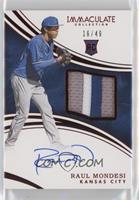 Rookie Auto Patch - Raul Mondesi #/49