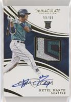 Rookie Auto Patch - Ketel Marte [Noted] #/99