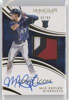 Rookie Auto Patch - Max Kepler /99