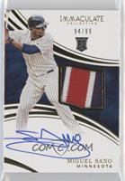 Rookie Auto Patch - Miguel Sano /99