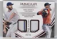 Dallas Keuchel, Jake Arrieta /25