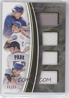 Byung-ho Park, Corey Seager, Kenta Maeda, Kyle Schwarber /99