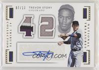 Trevor Story #/10
