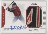 Rookie Materials Signatures - Peter O'Brien /10