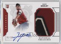 Rookie Materials Signatures - Zack Godley /10
