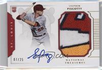 Rookie Materials Signatures - Stephen Piscotty /25