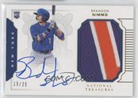 Rookie Materials Signatures - Brandon Nimmo #/25