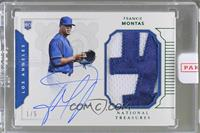 Rookie Materials Signatures - Frankie Montas /5 [Uncirculated]