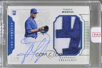 Rookie Materials Signatures - Frankie Montas /5 [ENCASED]