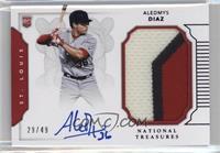 Rookie Materials Signatures - Aledmys Diaz /49