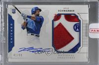 Rookie Materials Signatures - Kyle Schwarber [Uncirculated] #/99