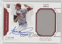 Rookie Materials Signatures - Aaron Nola /99