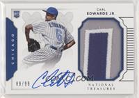 Rookie Materials Signatures - Carl Edwards Jr. #/99