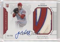Rookie Materials Signatures - Jerad Eickhoff #/99